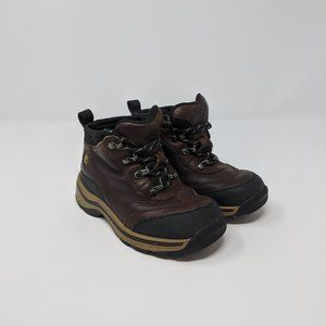 Timberland Infant Mid Leather Hiker Boots Sz 9.5C